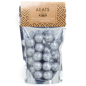 Dark Chocolate Shimmering Truffles Pina Colada Flavoured 140g - Keats Chocolatier London