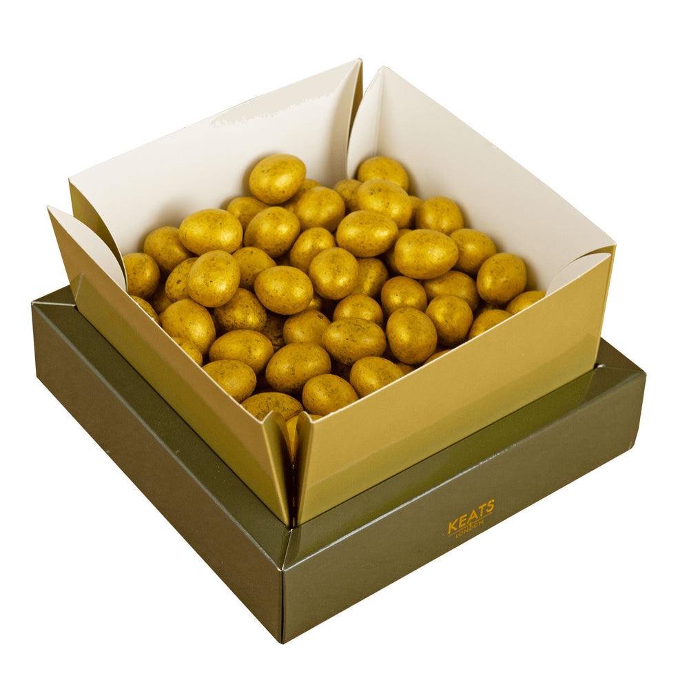 Keats Golden Milk Chocolate Mini Eggs Gift Box 400g - Keats Chocolatier