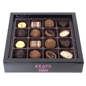 Load image into Gallery viewer, The Chocolatier's Chocolate Selection, 16 pieces 200g - Keats Chocolatier London