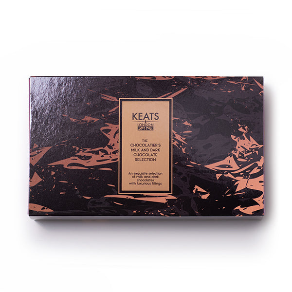 The Chocolatier's Chocolate Selection, 8 pieces 90g - Keats Chocolatier London