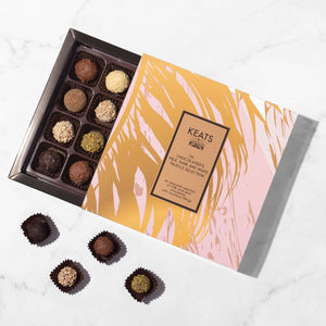Luxury Assorted Truffle Selection 16 pcs. - Keats Chocolatier