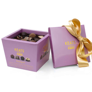 Keats Ribbon-Tied Luxury Chocolate Selection 18 pieces 220g - Keats Chocolatier London
