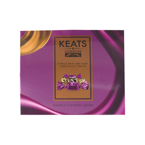 Hazelnut Ganache Treats, 3pcs Mini Box - Keats Chocolatier