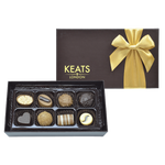 Keats Original Chocolate Selection, Bow Box 8pcs - Keats Chocolatier London