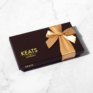 Load image into Gallery viewer, Keats Original Chocolate Selection, Bow Box 8pcs - Keats Chocolatier London