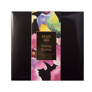 Keats Pudding Chocolate Selection, 12pcs, 120g - Keats Chocolatier London