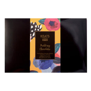 Keats Pudding Chocolate Selection, 24 pcs, 240g - Keats Chocolatier London