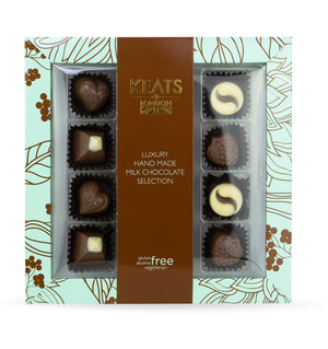 Keats Handmade Chocolate Selection, Milk - Keats Chocolatier London