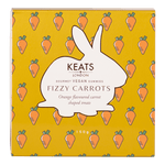 Keats Gourmet Vegan Gummies Gift Box  Fizzy Carrots - Keats Chocolatier London