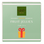 Keats Gourmet Vegan Gummies Gift Box Fruit Jellies 150g - Keats Chocolatier London