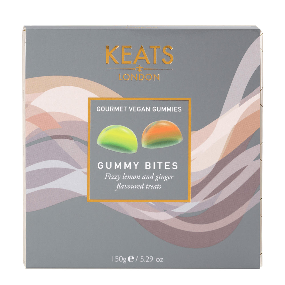 Keats Gourmet Vegan Gift Box Gummy Bites 150g - Keats Chocolatier London
