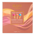 Keats Gourmet Vegan Gummy Gift Box Ice Cream Cones - Keats Chocolatier London