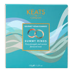 Keats Gourmet Vegan Gummy Gift Box Rings 150g - Keats Chocolatier London