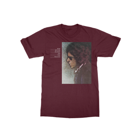 Blood on the Tracks Tee (Maroon)