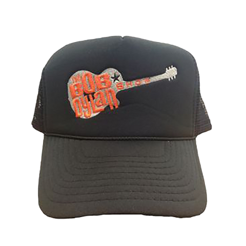 Orange Guitar Mesh Cap