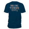 Navy Rolling Thunder Tee