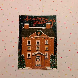 Christmas Postcard box
