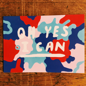 Oh yes I can postcard