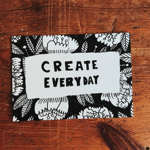 Create everyday postcard