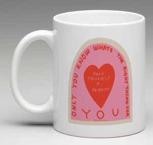 Only you know whats the right thing for you Mug