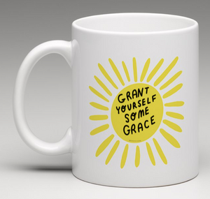 Pre order - grant yourself some grace mug