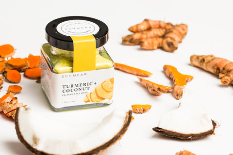 Natural Calming Face Mask with Turmeric and Coconut