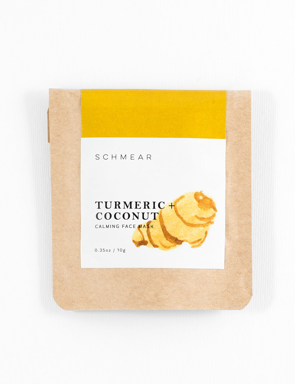 Turmeric and Coconut Calming Face Mask Mini Size for Skincare