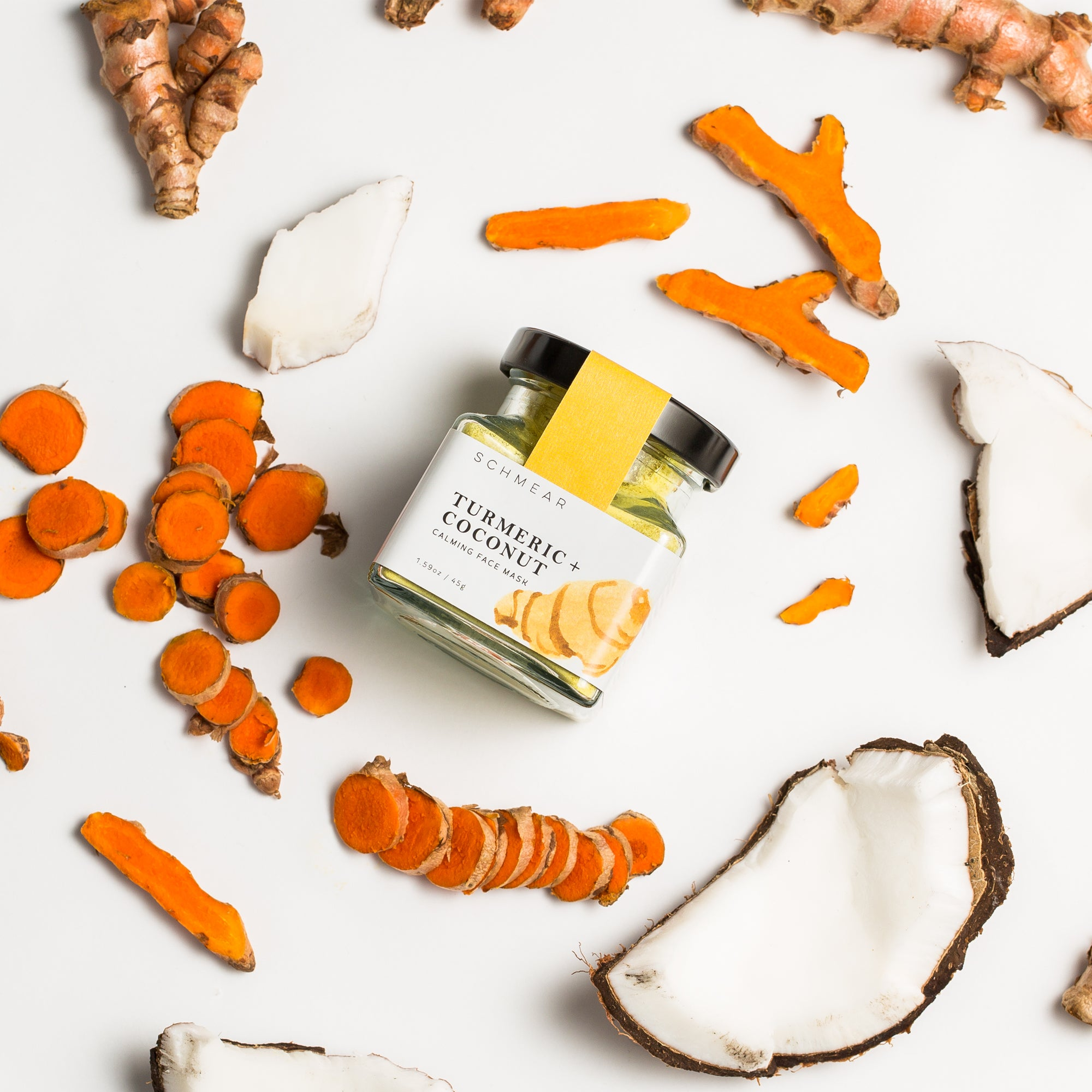 Soothing Face Mask Turmeric Coconut