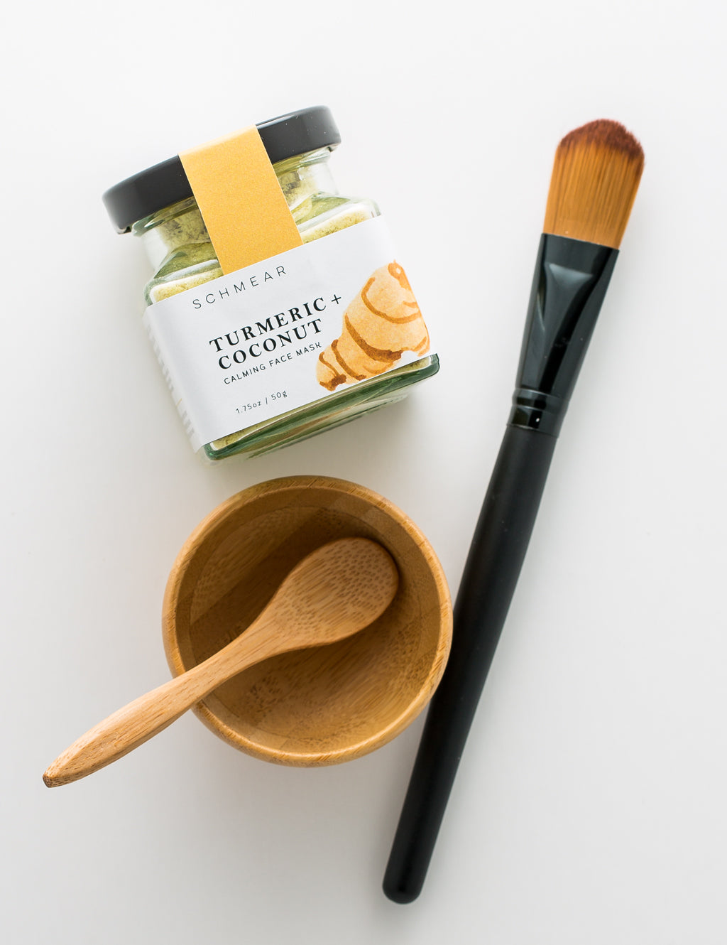 Soothing Face Mask and Skin Tools