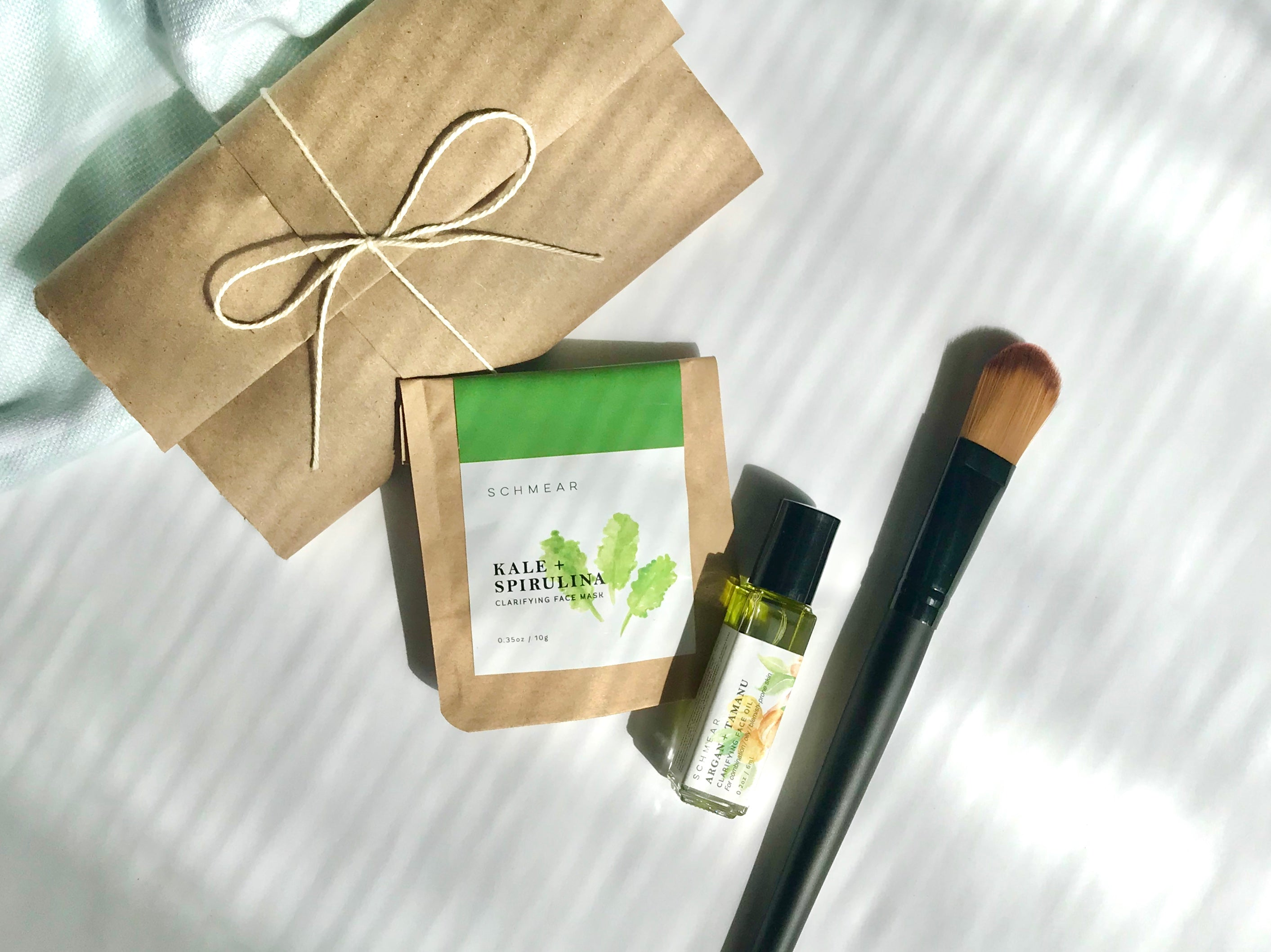 Clarifying Skincare Package made with Natural Ingredients
