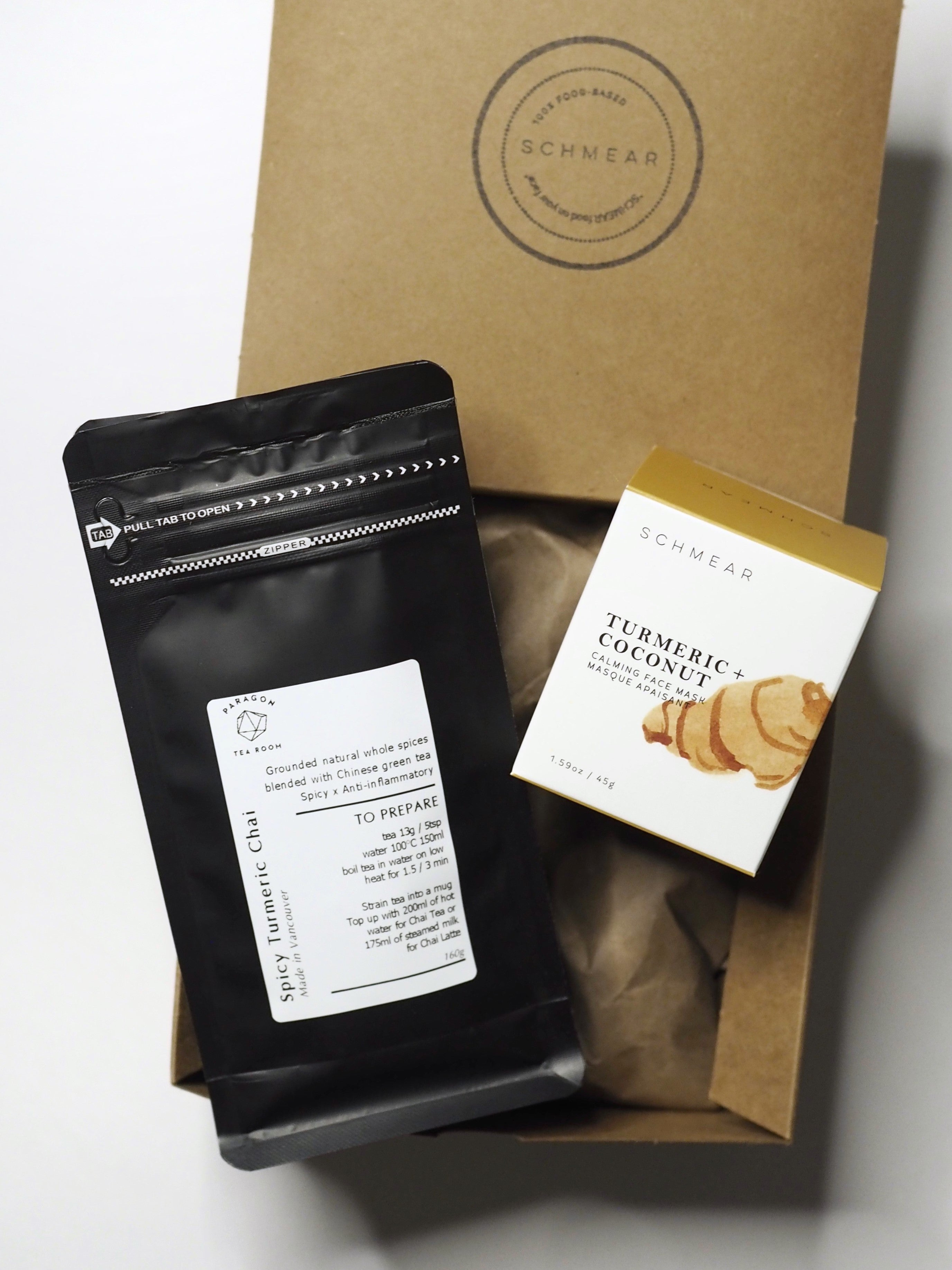 Turmeric Foodie Gift Box Vancouver