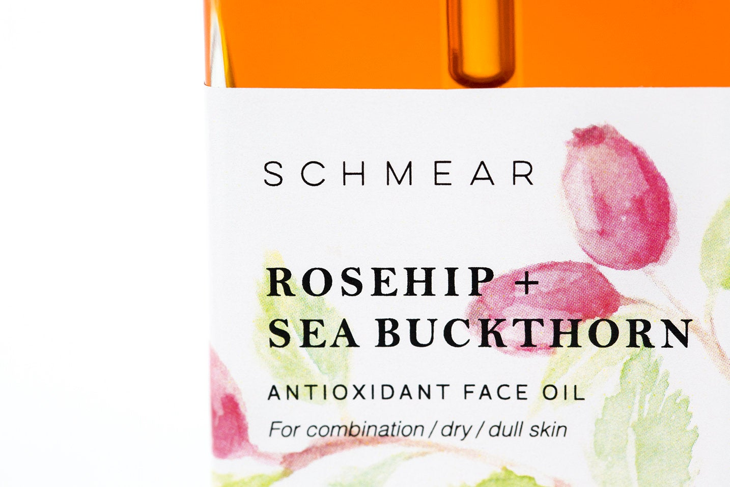 Organic Rosehip and Sea Buckthorn Face Oil to Brighten Skin