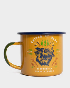 Grizzly 12Oz Enamel Mug