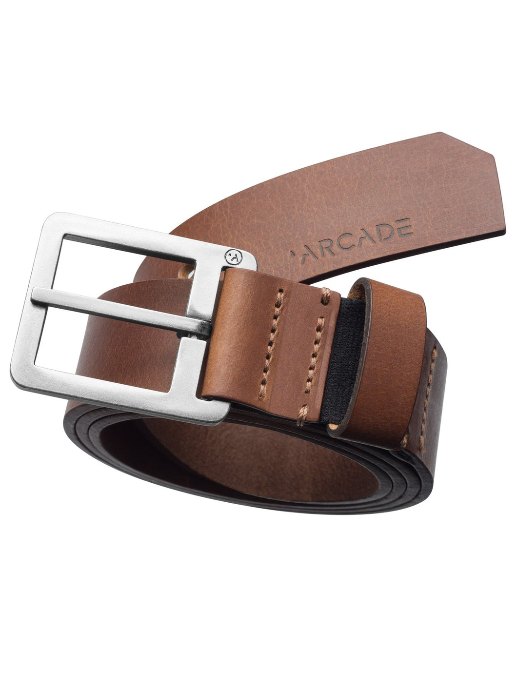Padre Leather Belt - Brown