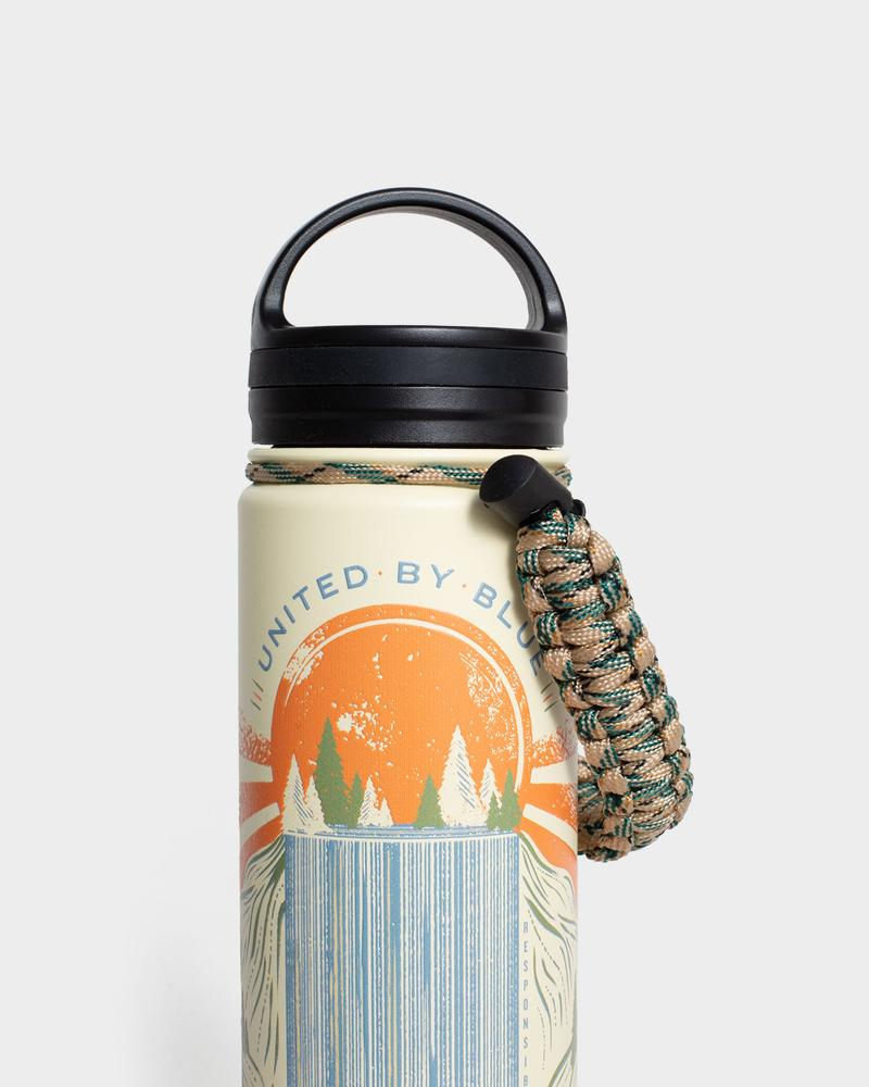 Rolling Waters 22Oz Insulated Steel Water Bottle