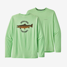 Load image into Gallery viewer, Men's L/S Cap Cool Daily Fish Graphic Shirt