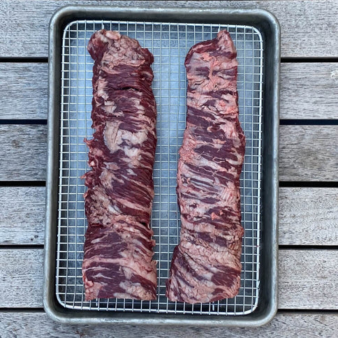 Barley-Finished Skirt Steak