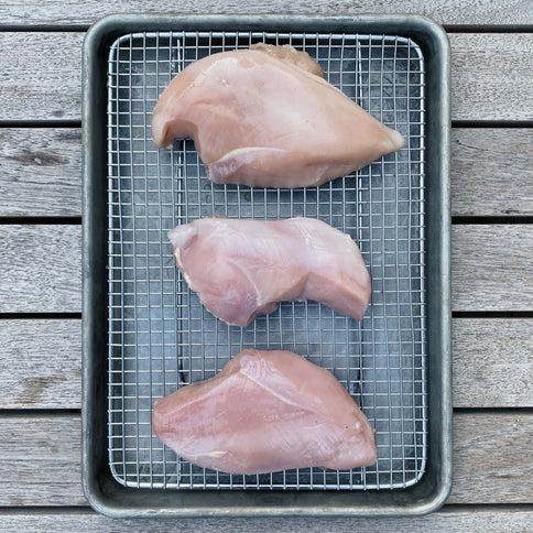 Pasture Raised Boneless, Skinless Chicken Breasts