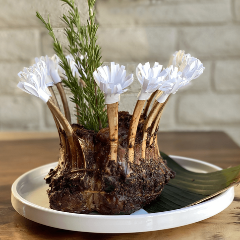 Julia's Crown Rack Of Lamb