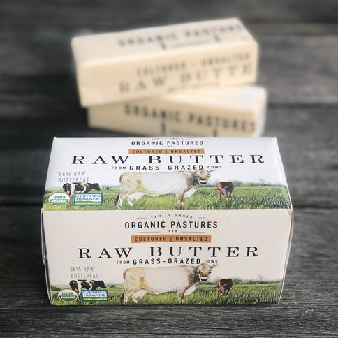 Organic Pastures Raw Butter