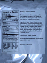 Load image into Gallery viewer, Cheddar White Cheese Pasta (4 Servings)