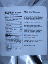 Load image into Gallery viewer, Mac and Cheese (5 Servings)