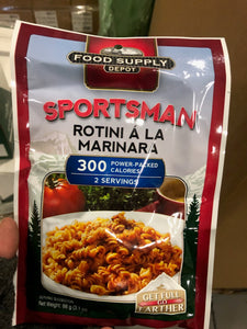 Rotini A La Marinara (2 Servings)