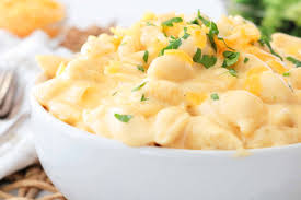 Cheddar White Cheese Pasta (4 Servings)