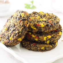 Load image into Gallery viewer, Black Bean Burger (6 Servings)