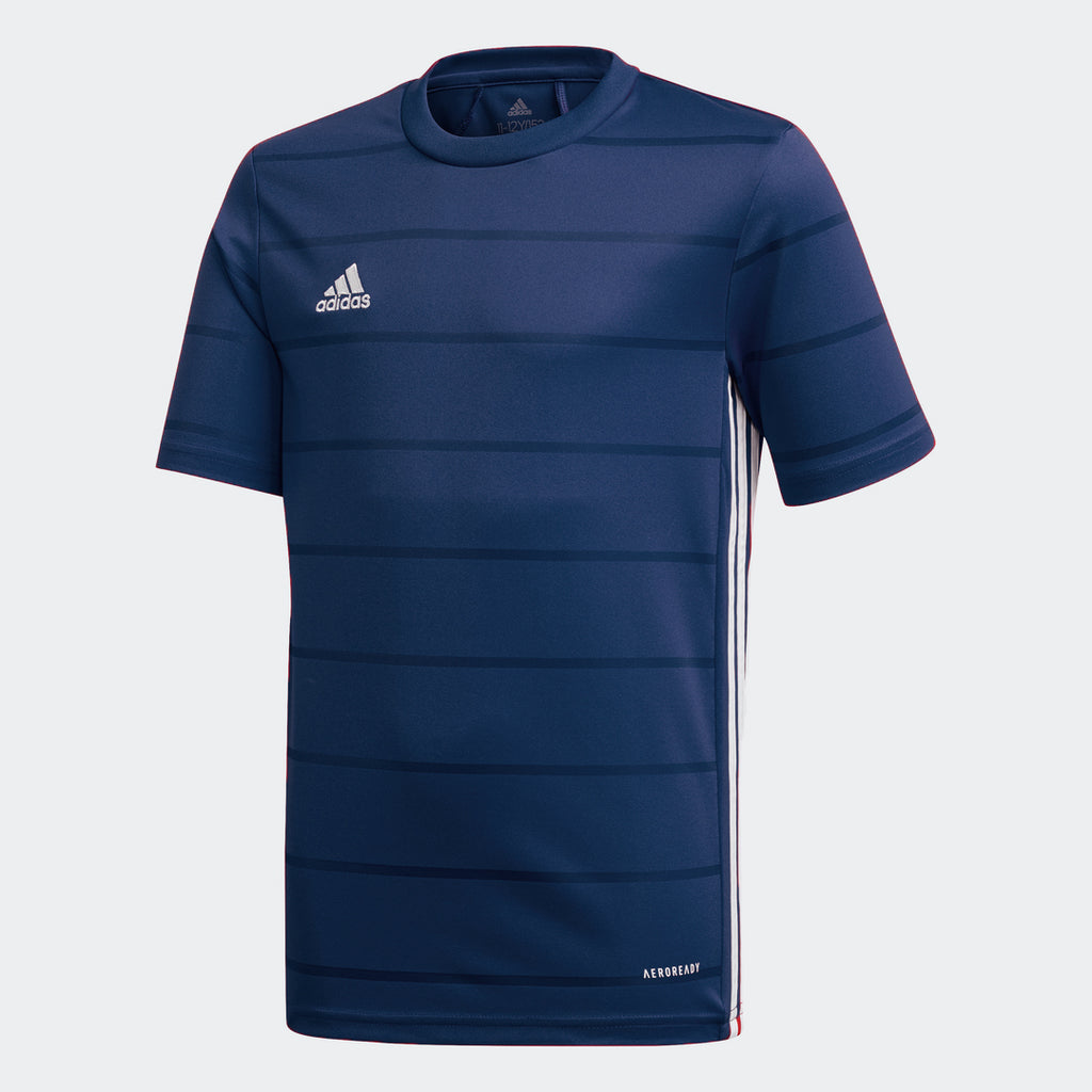 adidas CAMPEON 21 Soccer Jersey | Youth – Stripe 3