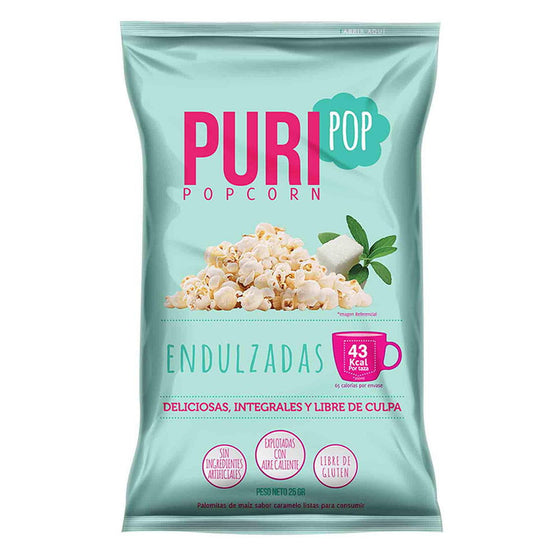 PURIPOP FAMILIAR DULCE LIGERAMENTE ENDULZADO 210 G