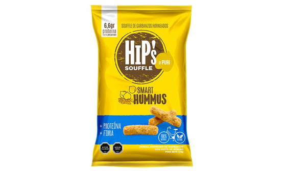 HIPS FAMILIAR SALADO GARBANZO HUMMUS 170GR.