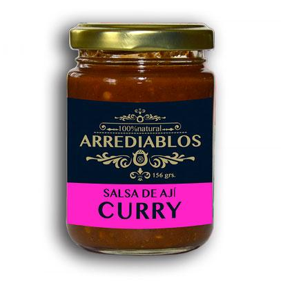 SALSA DE AJÍ CURRY ARREDIABLOS 156 G