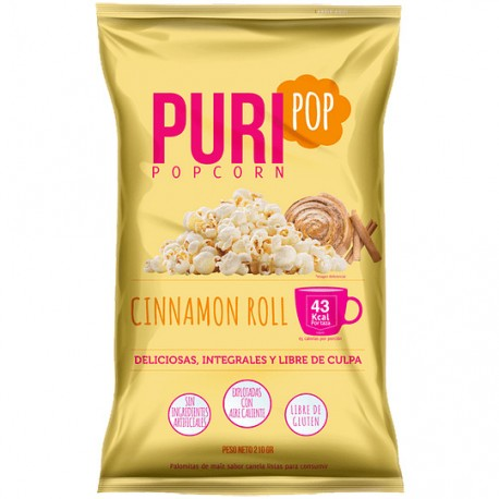 PURIPOP FAMILIAR DULCE CINNAMON ROLL 210 G